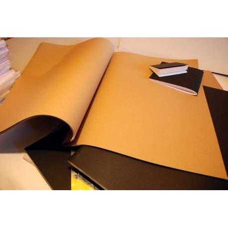 Carnet Kraft brun clair 220 gr - 65x50 40 pages