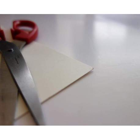 Carton blanc 350 gr - 24x32 - 50 plaques