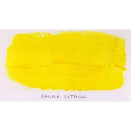 Gouache Galac - Jaune citron - 250 ml
