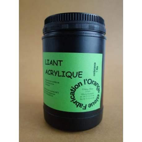 Médium liant acrylique - 1 litre