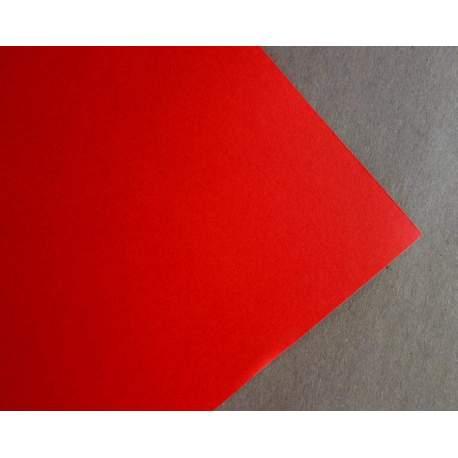 Rouge 220 gr - 32x48 - 20 feuilles