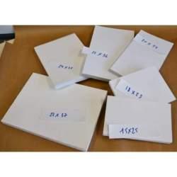 Lot de 6 blocs papier 300g - Tailles panachées