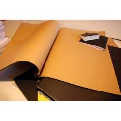 Carnet Kraft brun 300 gr - 65x50 40 pages