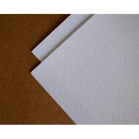 Blanc Neige de mars 160 gr - satin - 50x65 - 100 feuilles