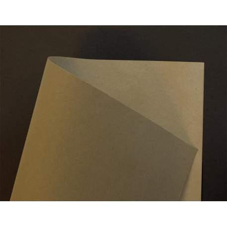 Kraft brun 220gr double face - A4 - 60 plaques