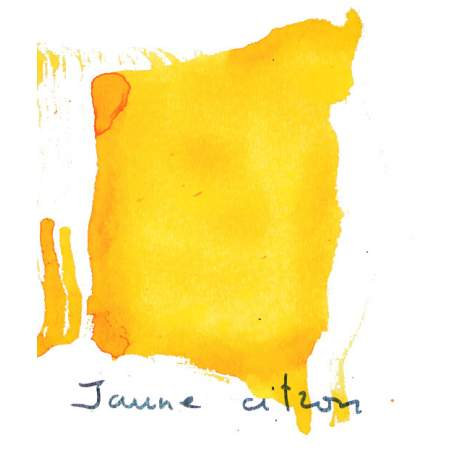 Encre Albo jaune citron
