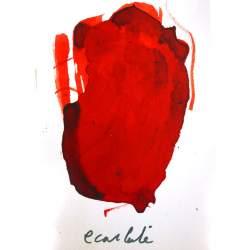 Encre Albo Rouge écarlate - 250 ml