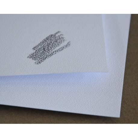 Papier Carta Neve - 350 gr - 55x75 - 15 feuilles - Grain très résistant