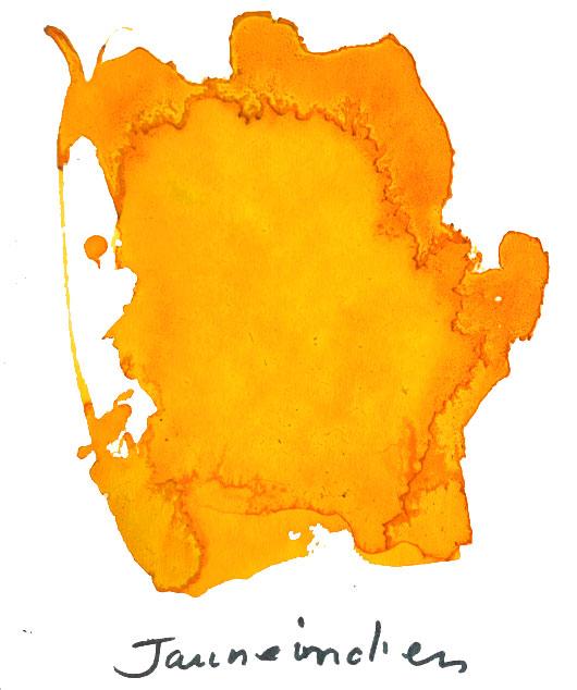 Encre Albo jaune indien