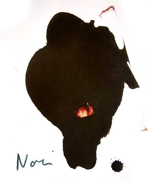 Encre couleur Albo noir