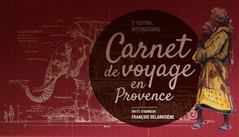 Festival du carnet de voyage de Lourmarin - Nous y serons !