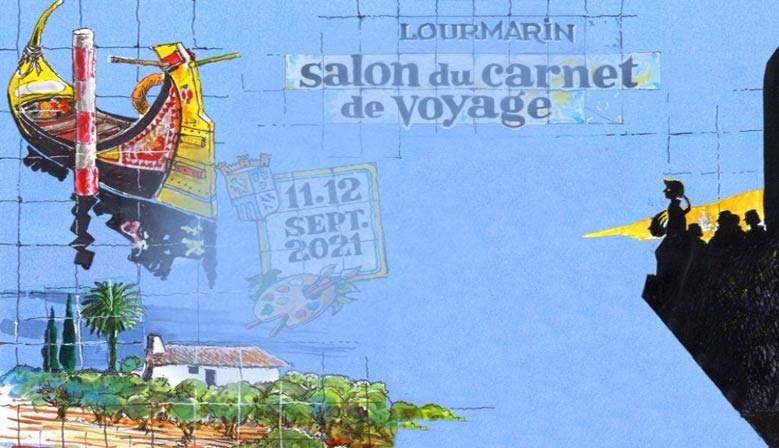 Salon du carnet de voyage Lourmarin