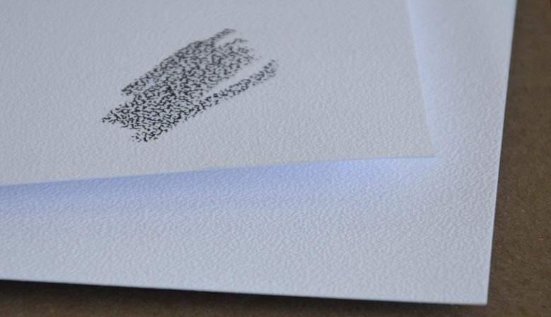 Papier Carta Neve - 350 gr - 55x75 - 15 feuilles
